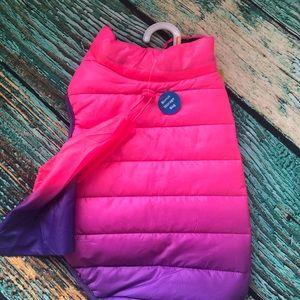 Pink & Purple Ombré Dogs Vest